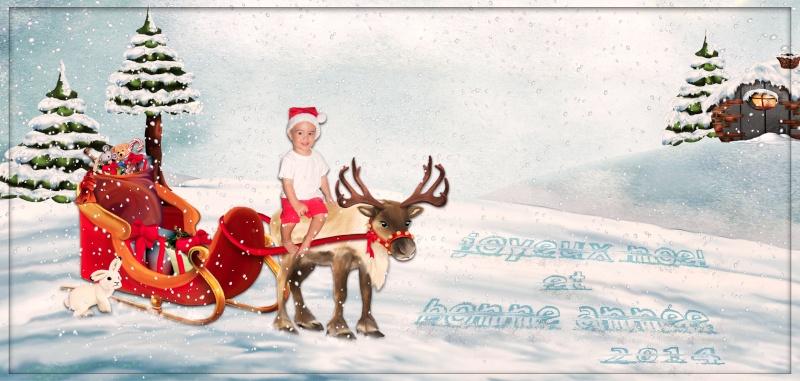 Lettre pour le Père Noël et carte Carte_12