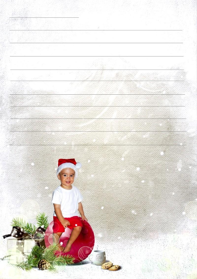 Lettre pour le Père Noël et carte Lettre10