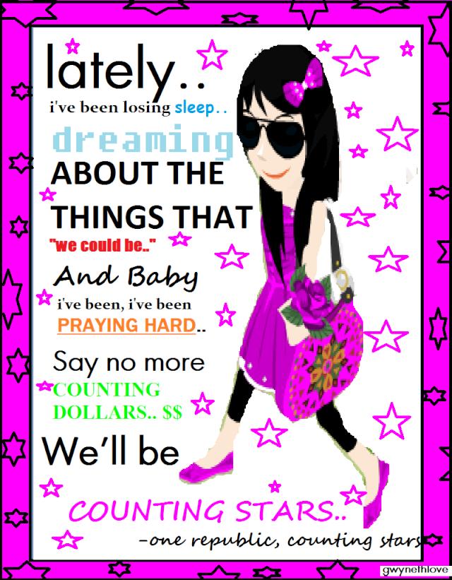 Counting Stars Lyrics Avatar Avviec12