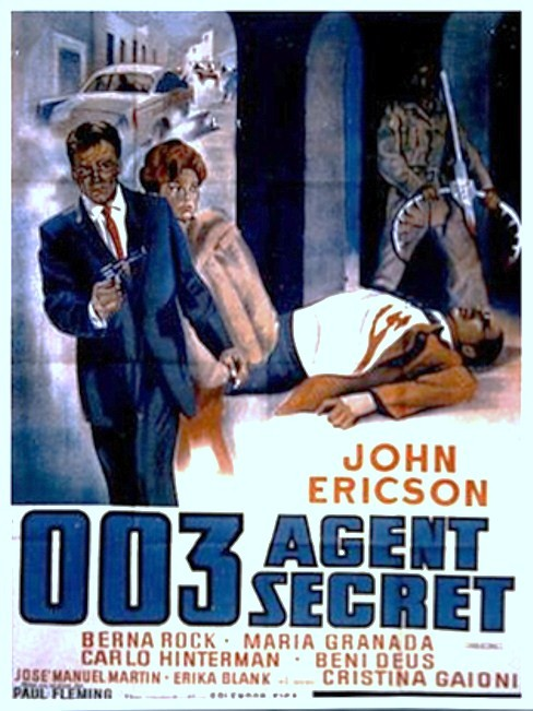 003 Agent secret. Agente S.03. Operazione Atlantide.1965. Domenico Paolella. 1965_s10