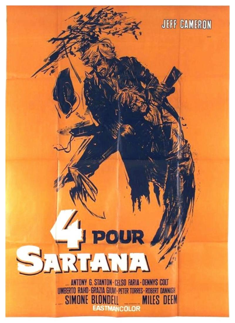 Quatre pour Sartana - E Vennero in Quatro per uccidere Sartana - Demofilio Fidani - 1969 4_pour10