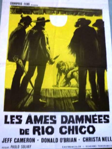 Les âmes damnées de Rio Chico - Quelle sporche anime dannate - Luigi Batzella - 1971 594_0010