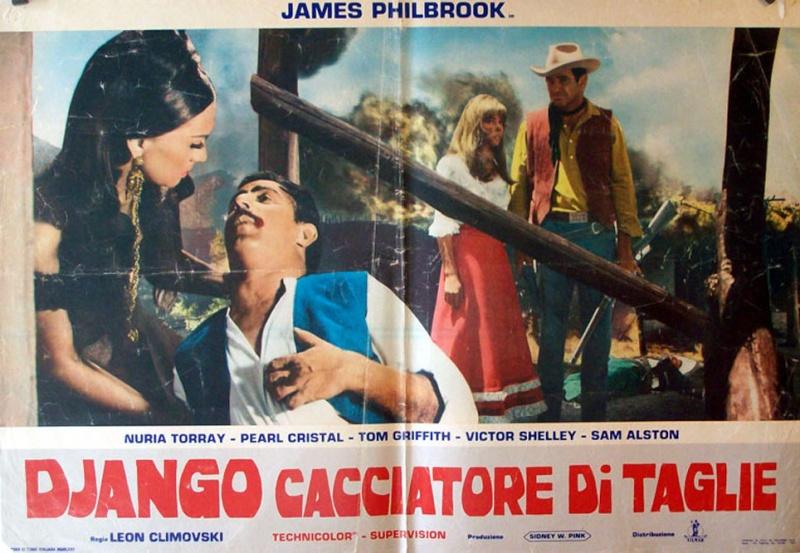 2.000 dolares por Coyote / Django cacciatore di taglie . 1966 . Leon Klimovsky  . Django11
