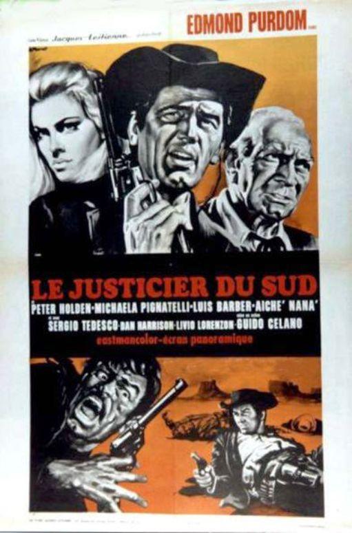 Le justicier du Sud. Piluk il timido. 1967.  Guido Celano. En139310