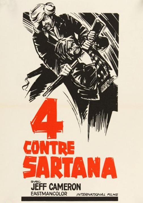 Quatre pour Sartana - E Vennero in Quatro per uccidere Sartana - Demofilio Fidani - 1969 En140010
