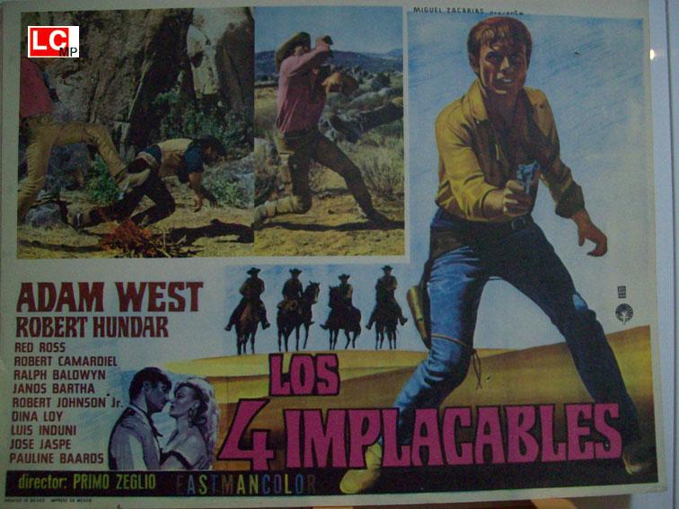 4 hommes à abattre - I quattro inesorabili - 1965 - Primo Zeglio Los-4-10