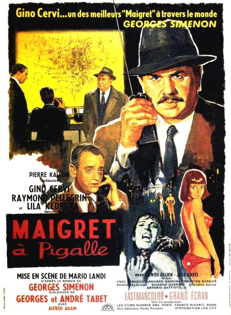MAIGRET A PIGALLE , MARIO LANDI, 1967. Maigre10