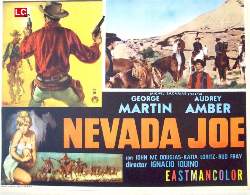 Le défi des implacables . ( Oeste Nevada Joe ) . 1964 . Ignacio F. Iquino . Nevada10