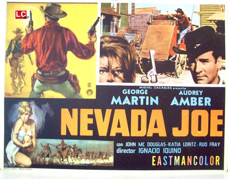 Le défi des implacables . ( Oeste Nevada Joe ) . 1964 . Ignacio F. Iquino . Nevada12