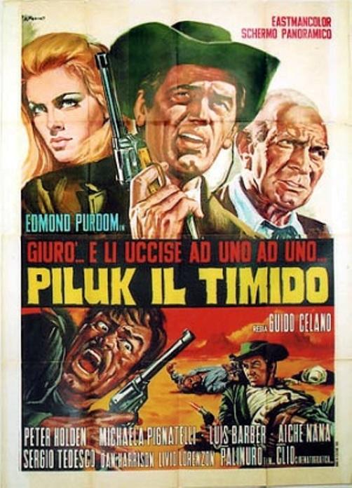 Le justicier du Sud. Piluk il timido. 1967.  Guido Celano. Piluk_10