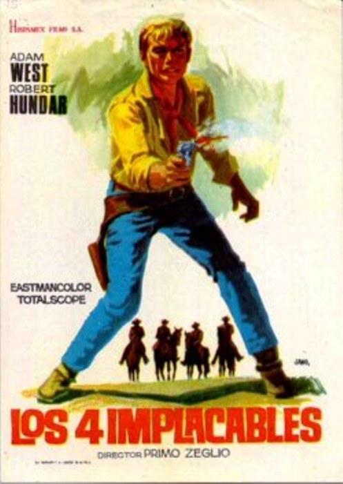 4 hommes à abattre - I quattro inesorabili - 1965 - Primo Zeglio Relent10