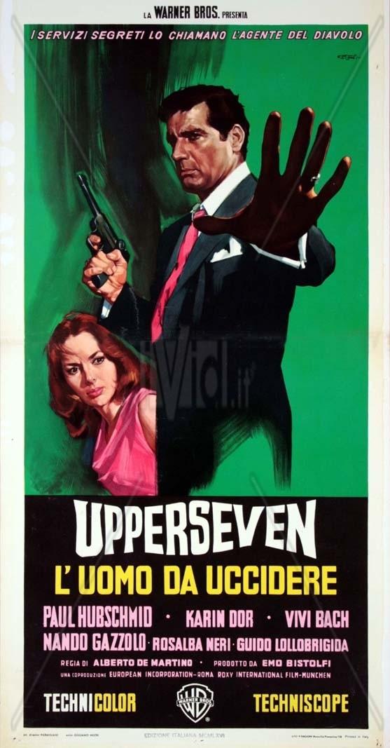 Espionnage à Capetown. Upperseven, l'uomo da uccidere. 1966. Alberto de Martino Uppers11