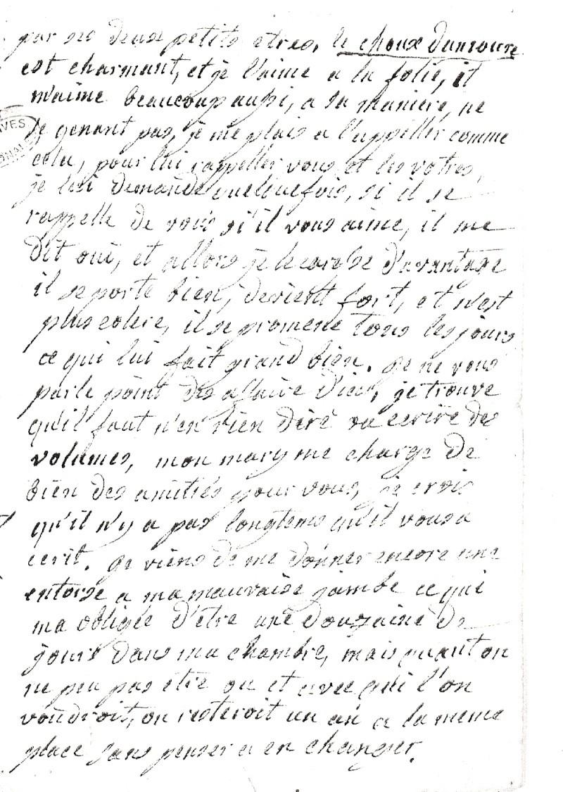 Mme de Polignac est-elle morte de douleur ? Numari23