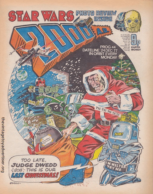 MAGAZINES THAT FEATURE VINTAGE SW  2000ad14