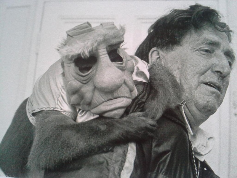 Original Yoda was going to be played by a trained monkey? Yodamo10