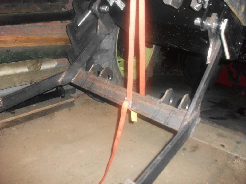 [Cotes relevage av mb800...] Et fabrication.... Dscf9525