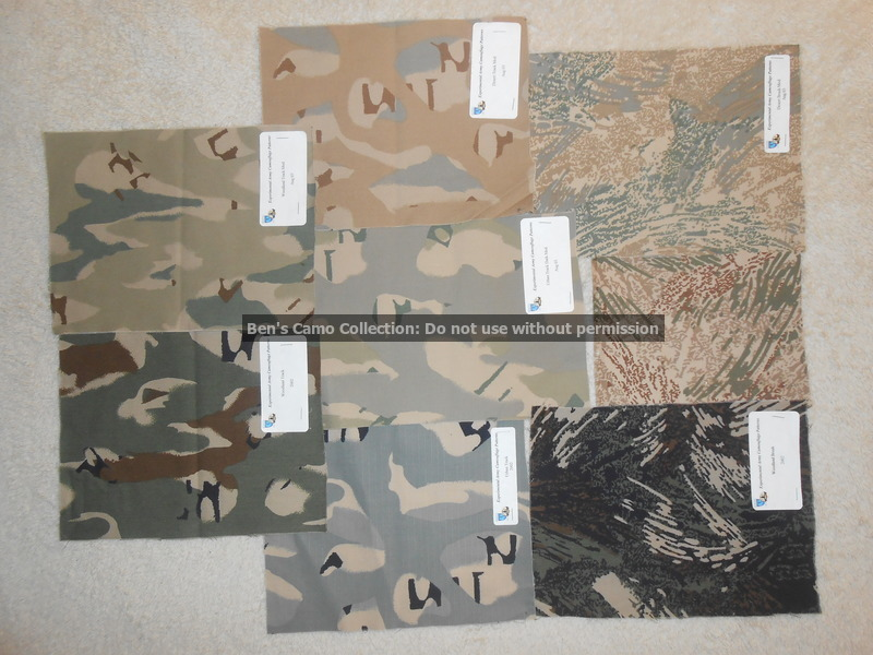 Army Camo Trial Patterns All_ca10