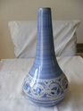 blue vase marked CP - not Gordon Plahn - possibly Cambridgeshire Pottery  Potte146