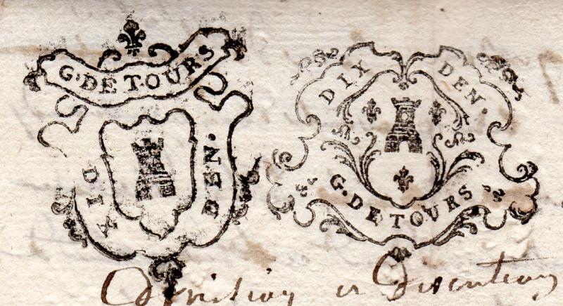 timbres fiscaux du XVII et XVIII eme siècle de la Généralité de Tours 1005010