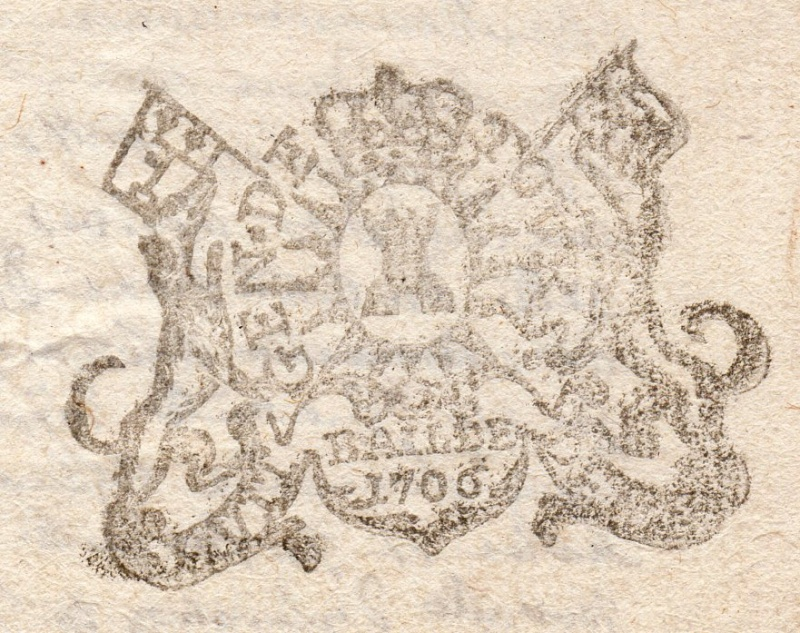 timbres fiscaux du XVII et XVIII eme siècle de la Généralité de Tours 1105110