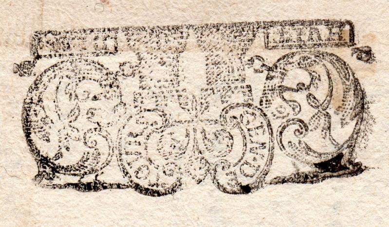 timbres fiscaux du XVII et XVIII eme siècle de la Généralité de Tours 1305410