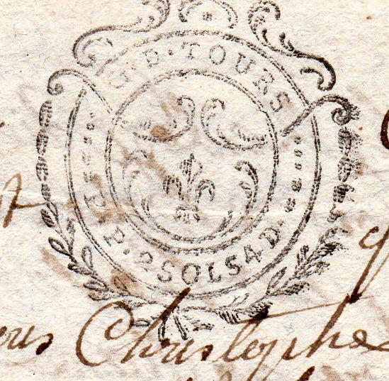 timbres fiscaux du XVII et XVIII eme siècle de la Généralité de Tours 204210