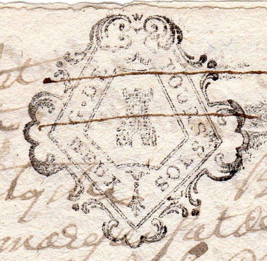 timbres fiscaux du XVII et XVIII eme siècle de la Généralité de Tours 304310