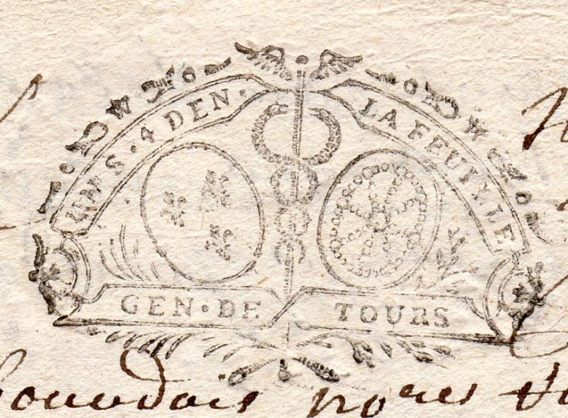 timbres fiscaux du XVII et XVIII eme siècle de la Généralité de Tours 804810