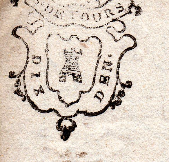 timbres fiscaux du XVII et XVIII eme siècle de la Généralité de Tours 904910