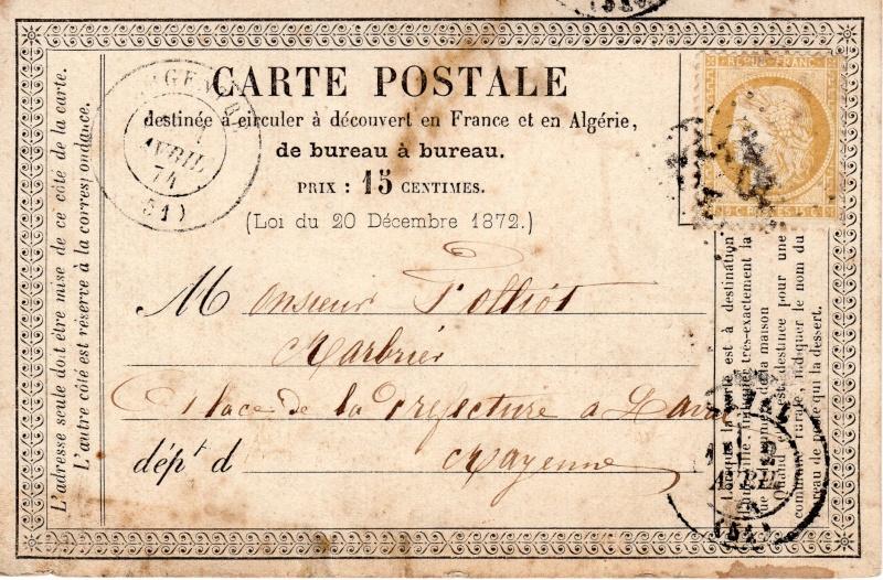 1 avril 1874 Argent10