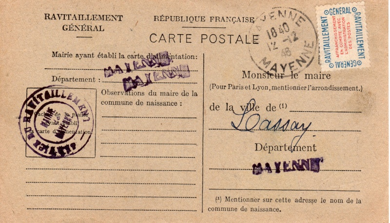 carte ravitaillement general 1946 de la MAYENE Carte_13