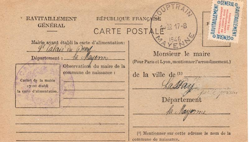 carte ravitaillement general 1946 de la MAYENE Carte_14