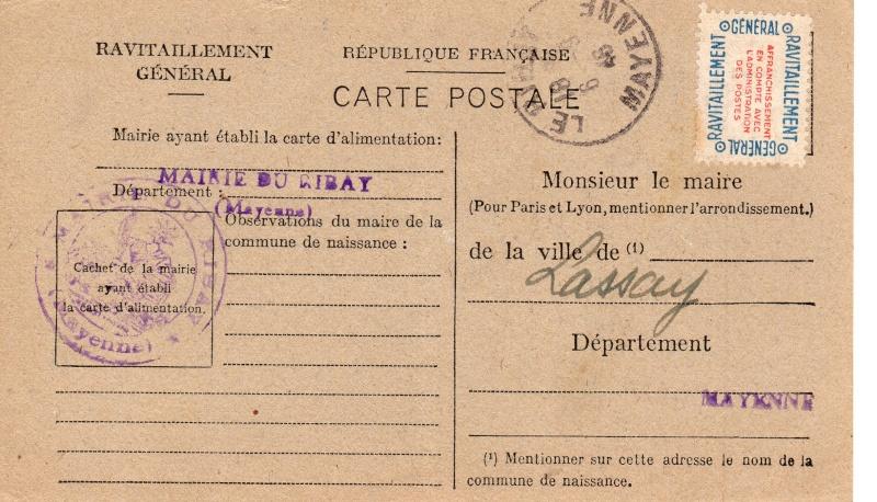 carte ravitaillement general 1946 de la MAYENE Carte_18