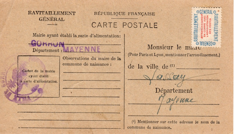 carte ravitaillement general 1946 de la MAYENE Carte_23
