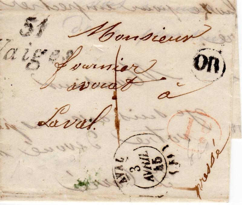 3 avril 1845 Vaiges10