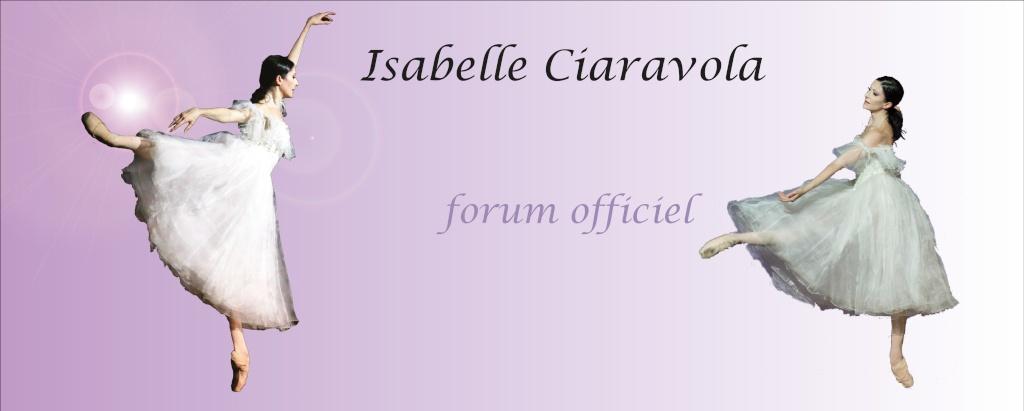 forum officiel d'Isabelle Ciaravola