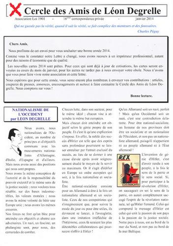 Cercle des amis de Léon Degrelle Sans-t27