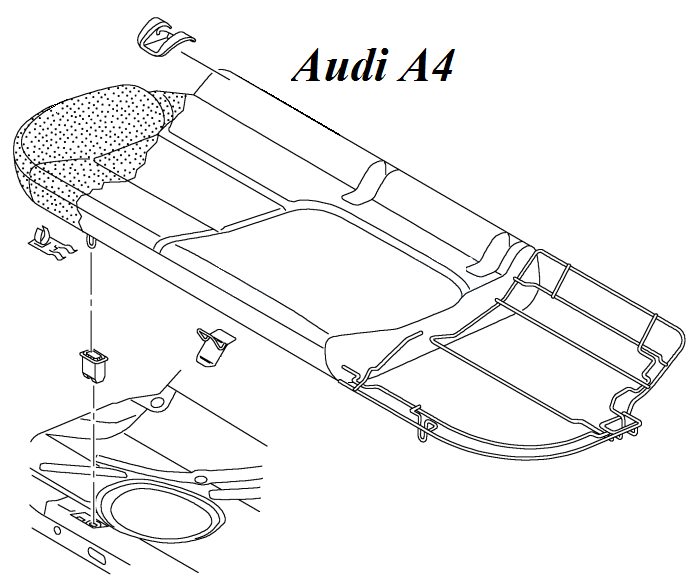 ceinture central Audia410