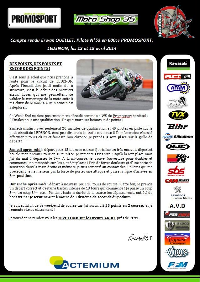 Promosport Lédenon 23-03-12