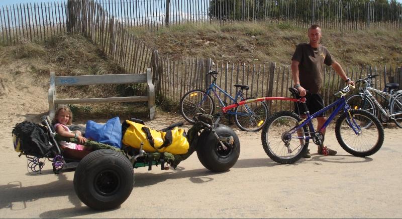 Tire char pour vélo Tracte10