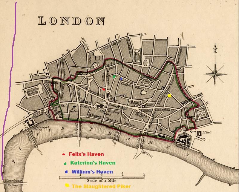 Map of London in 1832 London10