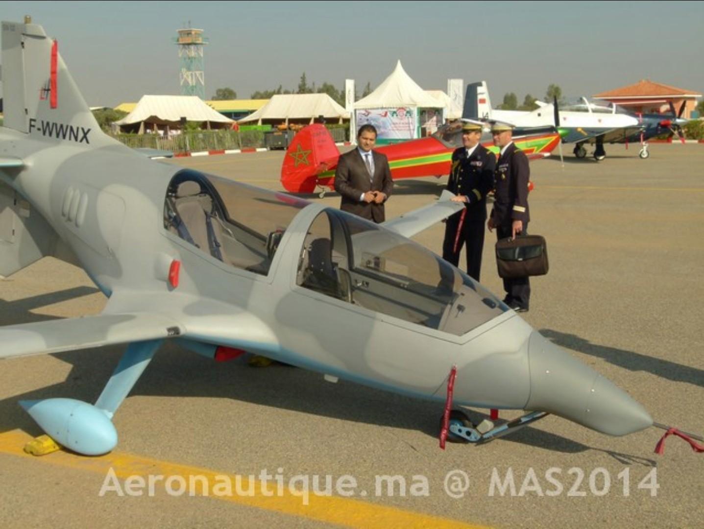 طائرة الإستطلاع الجوي المتطورة LH-10 M التي يتم تصنيعها بالمغرب Sans_t37