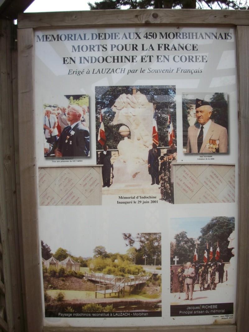 Le Mémorial Indochine et Corée de Lauzach Josaph10