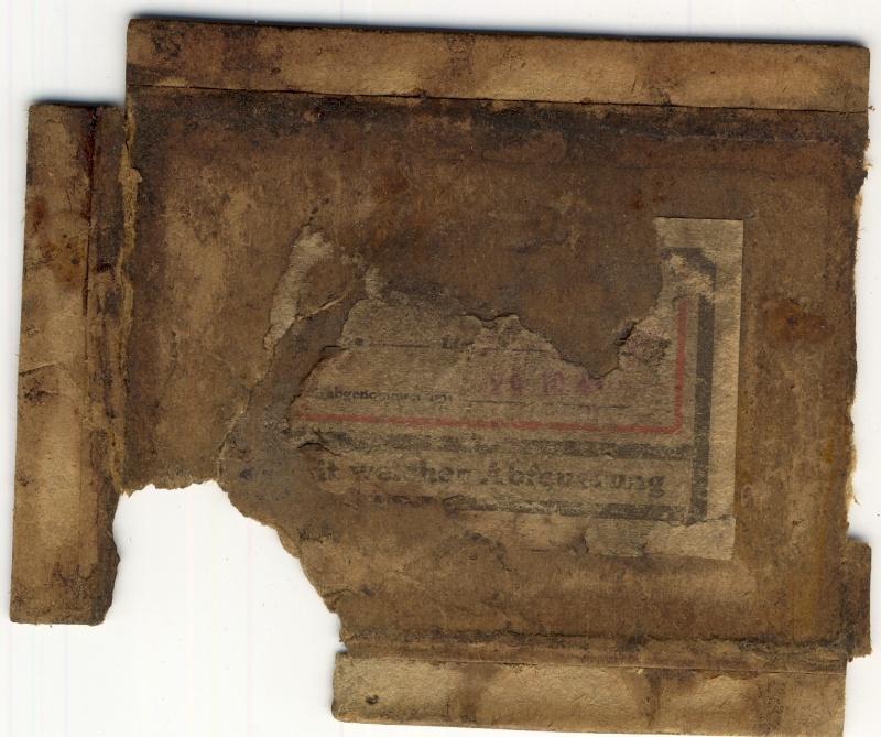 Documents de fouille / Festung Gironde Sans_t90