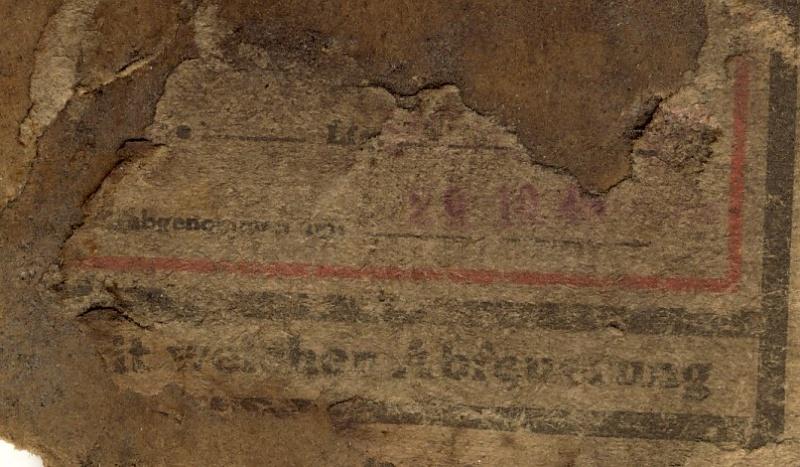 Documents de fouille / Festung Gironde Sans_t91