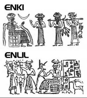Nastanak čoveka i religija Enki-e10