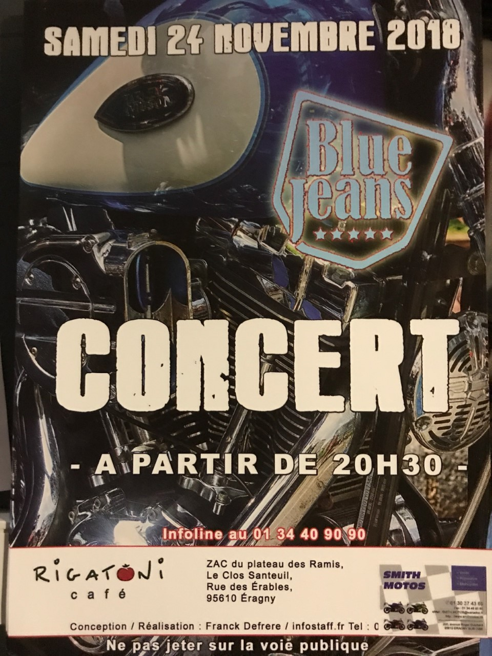 blue jeans  musique pop rock Rigato10