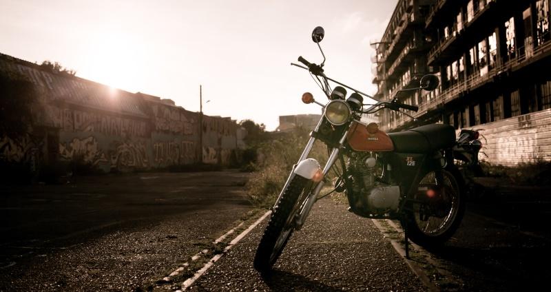 Honda 125 XL Hondax10