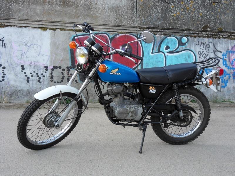 Honda 125 XL Sdc12510