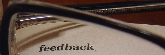 Feedback and Ideas